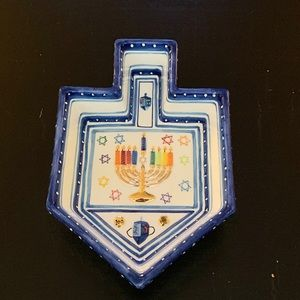 Dreidel Dish - Jacob Rosenthal Judaica Collection